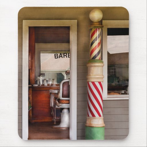 Barber - I need a hair cut Mouse Pad