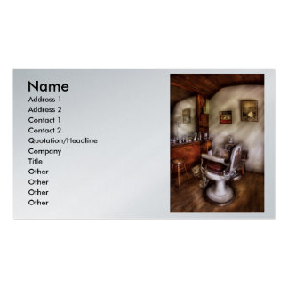 Barber - In The Barber Shop Business Card