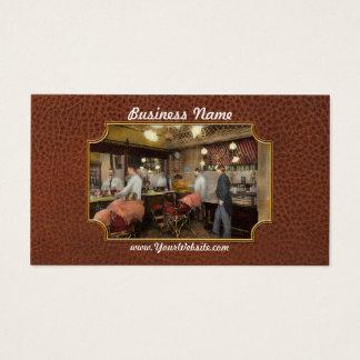 Barber - L.C. Wiseman Barbershop, NY 1895 Business Card