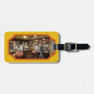 Barber - L.C. Wiseman Barbershop, NY 1895 Travel Bag Tag