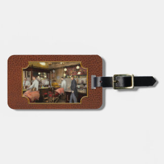Barber - L.C. Wiseman Barbershop, NY 1895 Tag For Luggage