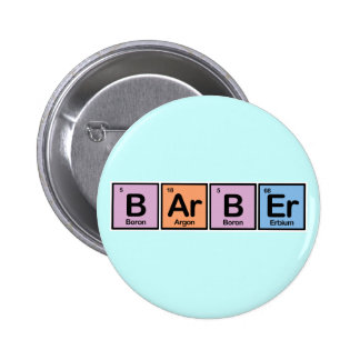 Barber made of Elements Button