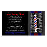 Barber / Men's Hair Stylist Business Cards