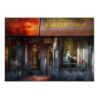 Barber - NY - West Village Barber Shop Card