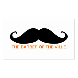 Barber of the Ville Double-Sided Standard Business Cards (Pack Of 100)