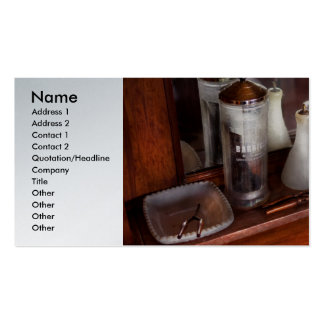 Barber - On the counter Business Card Templates
