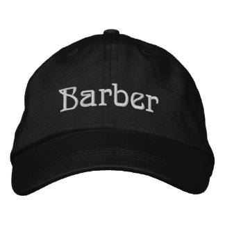 Barber Personalized Adjustable Hat
