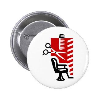 Barber Pinback Button