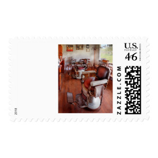 Barber - Please have a seat Postage Stamps