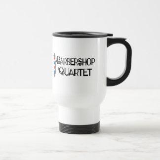 Barber Pole Barbershop Quartet Travel Mug