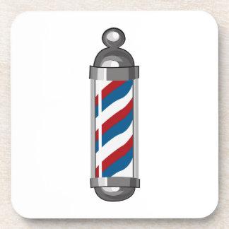 Barber Pole Coasters
