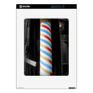 Barber Pole iPad Skins