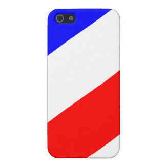 Barber Pole Pattern iPhone SE/5/5s Cover