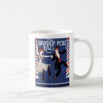 Barber Pole Rag Vintage Sheet Music Cover Coffee Mug