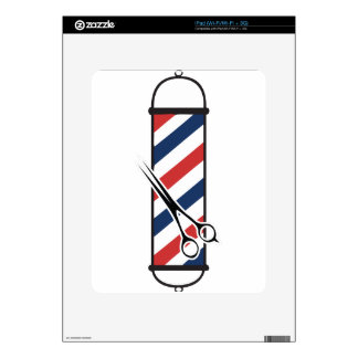 barber pole skin for the iPad