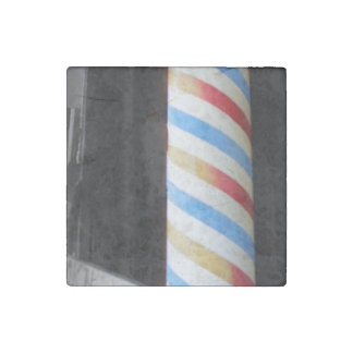 Barber Pole Stone Magnet
