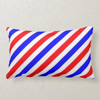 Barber Pole Stripes Throw Pillow