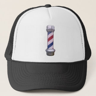 Barber Pole Trucker Hat