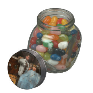 Barber - Portable music player 1921 Jelly Belly Candy Jar