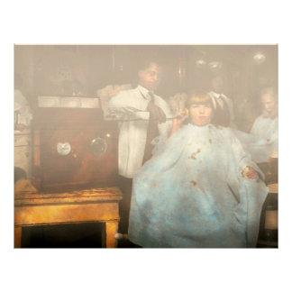 Barber - Portable music player 1921 Letterhead