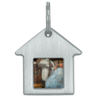 Barber - Portable music player 1921 Pet ID Tag