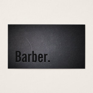 Barber business cards 600 barber business card templates barber professional black minimalist business card flashek Choice Image