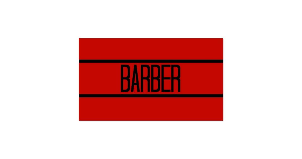 barber logos business cards - photo #39