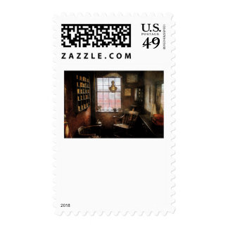 Barber - Remembering the old days Stamps