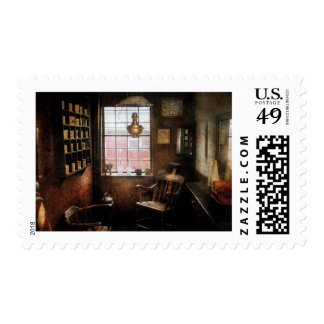 Barber - Remembering the old days Postage Stamp