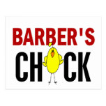 Barber's Chick Post Cards