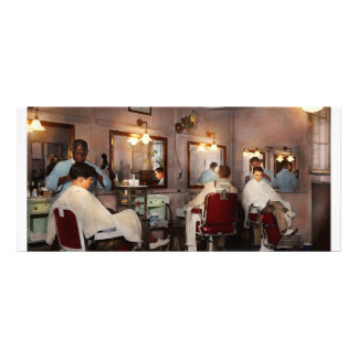 Barber - Senators-only barbershop 1937 Rack Card