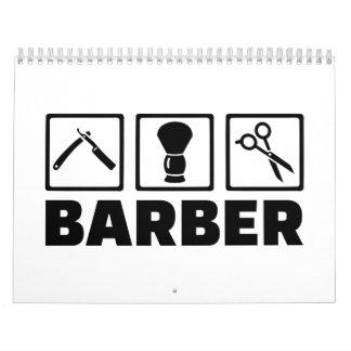 Barber set calendar