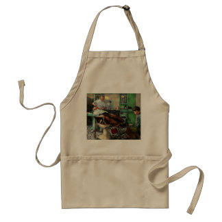 Barber - Shave - Pennepacker's barber shop 1942 Adult Apron
