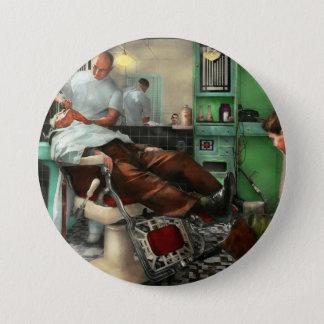 Barber - Shave - Pennepacker's barber shop 1942 Button