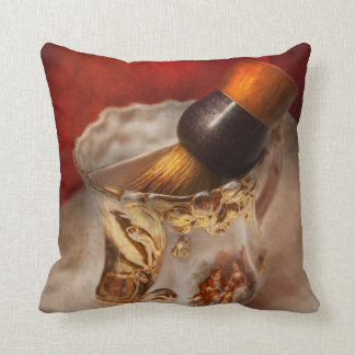 Barber - Shaving - The beauty of barbering Throw Pillows