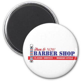 Barber Shop 2 Inch Round Magnet