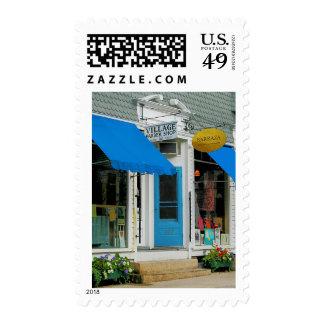 Barber Shop and Dress Shop Postage