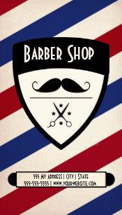 Barber shop business cards templates zazzle barber shop business card colourmoves Gallery