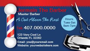 Barber shop business cards zazzle barber shop business cards barber pole clippers colourmoves