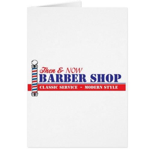 Barber Shop Card