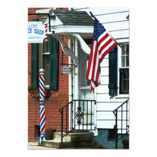 Barber Shop Entrance Invite
