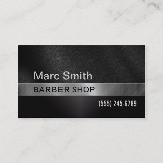 Barber Shop Hair Stylist Business Card For Men Zazzle