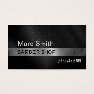 Barber Shop & Hair Stylist Business Card for Men