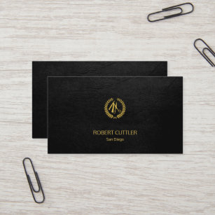 Barber business cards 600 barber business card templates barber shop luxury simple black leather look business card colourmoves
