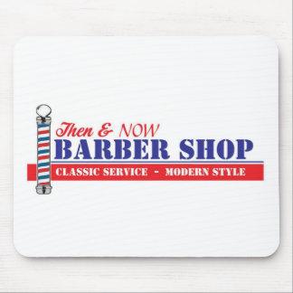 Barber Shop Mouse Pad