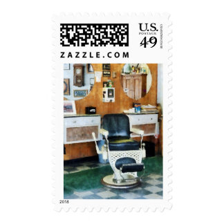 Barber Shop One Chair Postage