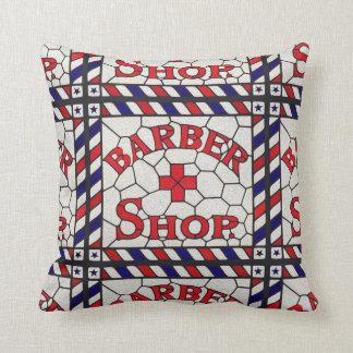 Barber Shop Pillow