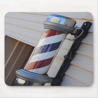 Barber Shop Pole Mouse Pad