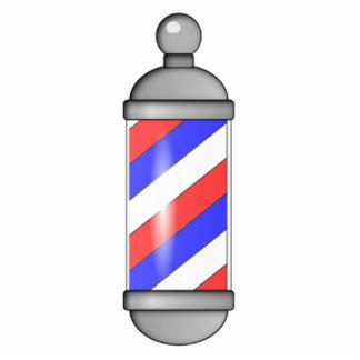 Barber Shop Pole Photo Sculptures