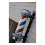 Barber Shop Pole Print